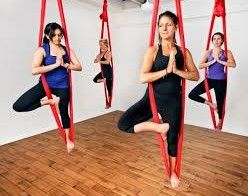 Majestic Aerial Fabric Workout Classes Dubai