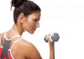 Health & Fitness for Women : What Size Weights Should Women Lift?