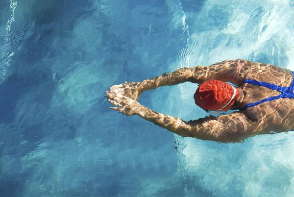 Swim Your Way To Better Abs