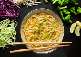 Tuck into Exquisite delights of Vegetable Pho