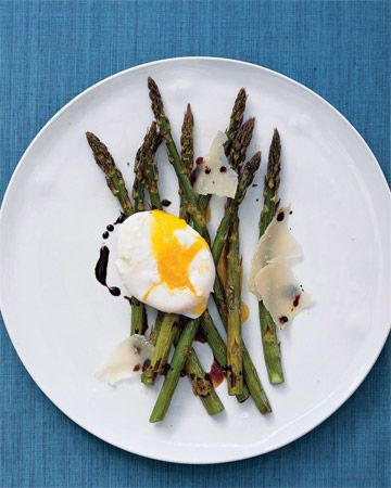 Low Carb High Protein Recipe For Ramadan : Roasted Asparagus and Eggs