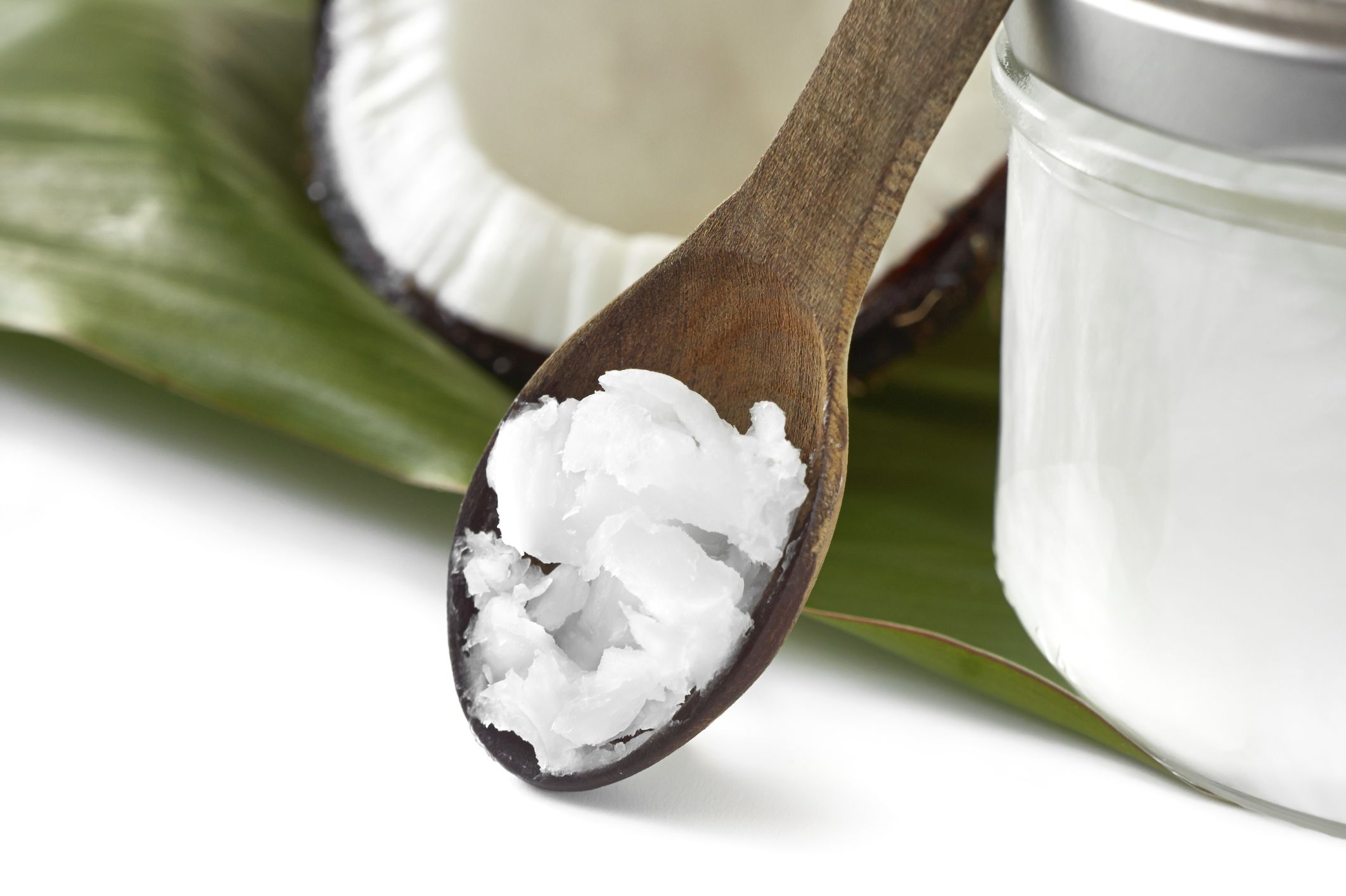Coconut oil used as lube