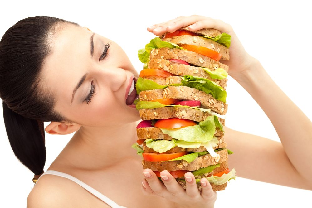 Health & Food : Coming to Realization You're Eating Way Too Much!