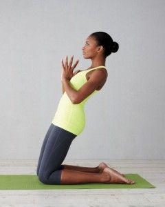 Yoga Kneeling Plank Dubai