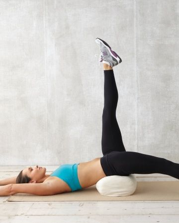 Elevated Leg Lift for abs in Dubai