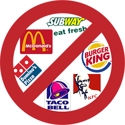 Fast Food No Nutritional Value