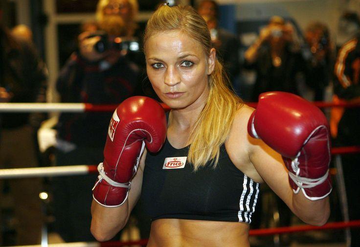 Female boxer