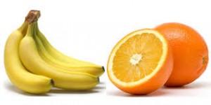 bannanas and oranges