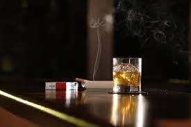 Smokinh and Alcohol