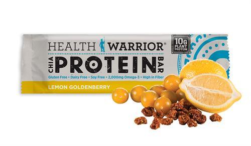 Delicieux Health Warrior Lemon Goldenberry Protein Bar