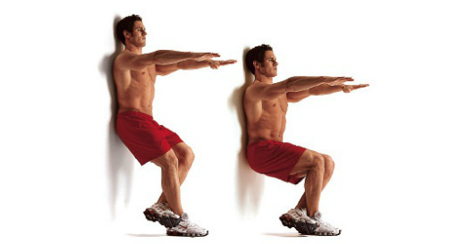 6 Benefits Of The Wall-Sit Exercise