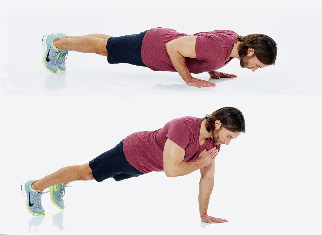 shoulder push up