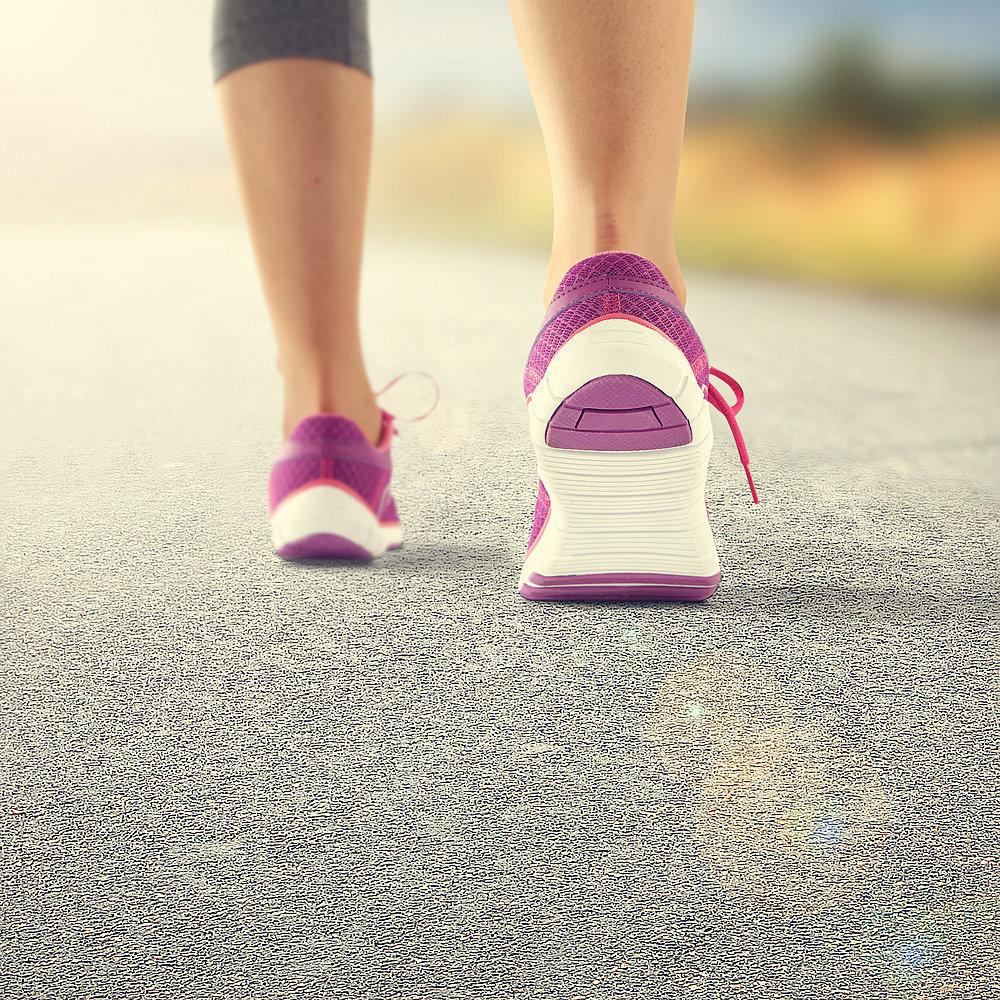Take shorter strides