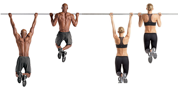 how to build strength for chin ups at home