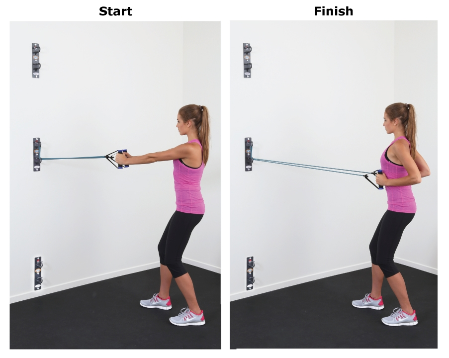 Close grip row