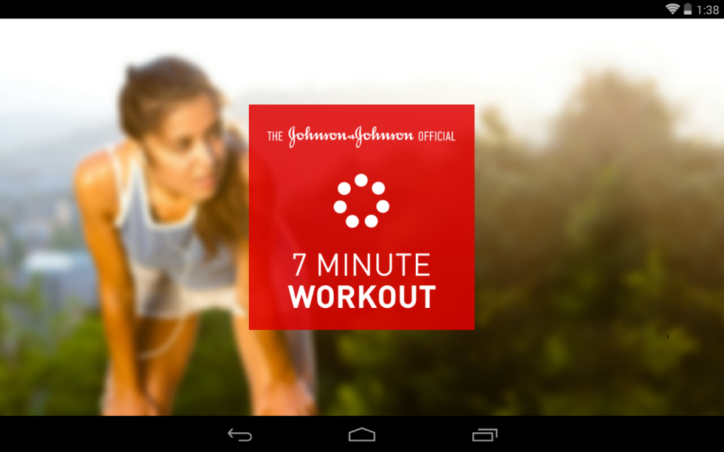 johnson workout app