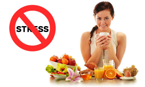 6 foods that help to reduce stress.