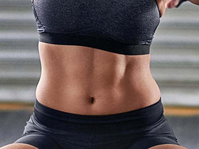 flat stomach women - photo #2