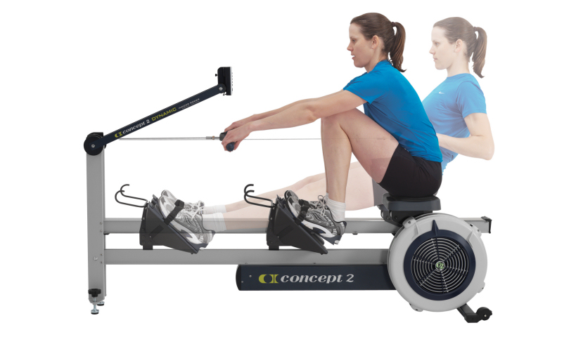 stationary rowing