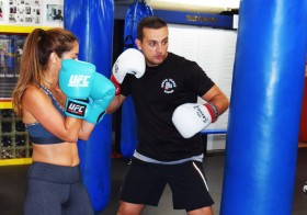 Boxing lessons with Trainer.ae