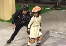 The best roller skating in UAE for kids