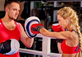 Cardio Kickboxing lessons in Dubai