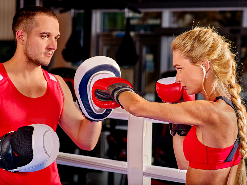 Cardio Kickboxing lessons in Dubai