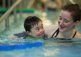 Swimming Lessons For Special Kids With Trainer.ae